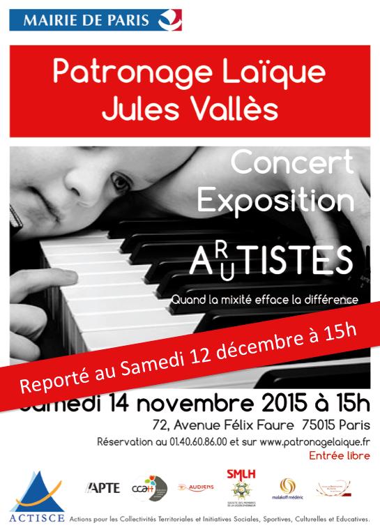 Concert au Patronage Laïque Jules Vallès