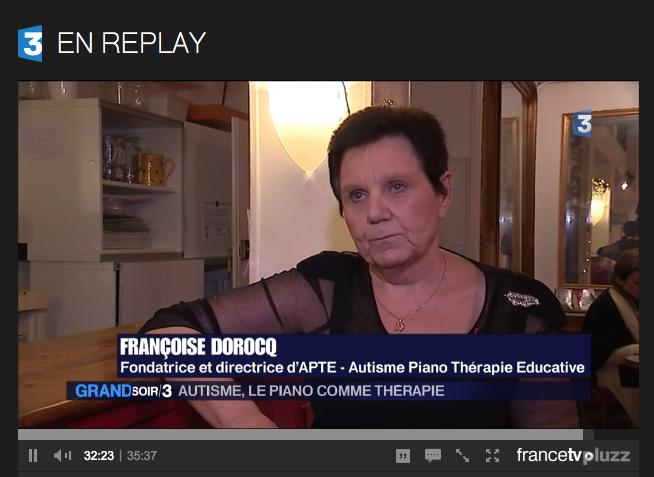 APTE sur France 3 – Reportage sur le concert du 11 janvier
